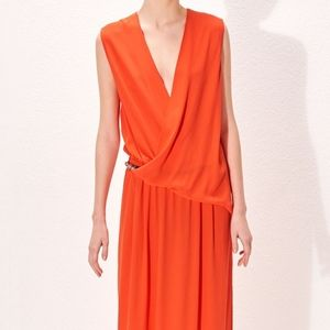 Plunging neckline Cop Copine maxi dress